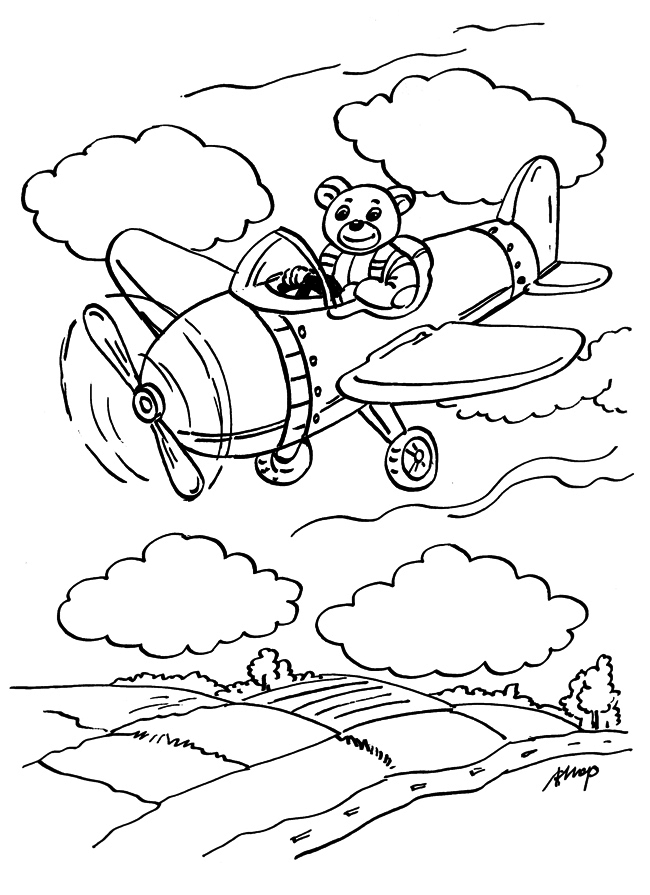 o Misiu pilocie małego samolotu