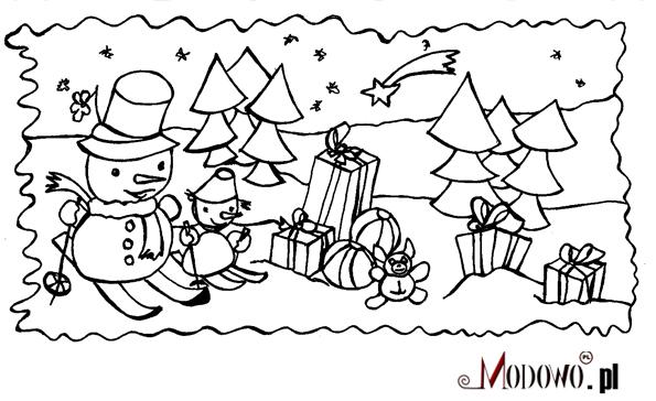 Obrazki Na Swieta Bozego Narodzenia Do Kolorowania Bominflot